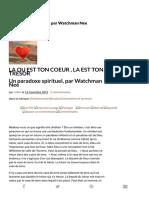 Un paradoxe spirituel, par Watchman Nee - LE LION ET L' AGNEAU.pdf