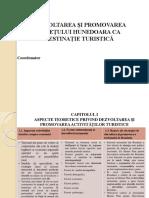 ppt DEZVOLTAREA ȘI PROMOVAREA JUDEȚULUI HUNEDOARA CA DESTINAȚIE TURISTICĂ