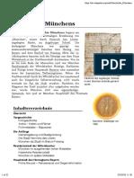 MÜNCHEN - Seine Geschichte