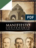 manifiesto centenario