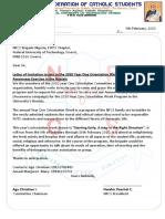 Brigade Letter