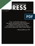 The Stony Brook Press - Volume 32, Issue 7