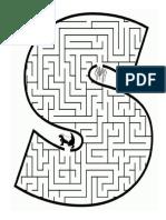 labirint cu litera S