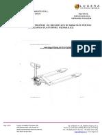 18. Instructiune platforma hidraulica