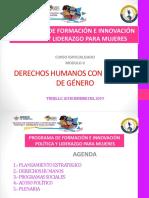DERECHOS HUMANOS CON ENFOQUE DE GENERO