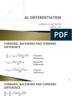 lecture 1 - differentiation