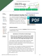 Free IELTS Academic Reading sample #1 - IELTS-up