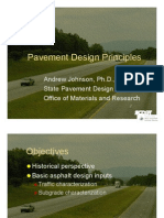 Pavement Design Principles for T3