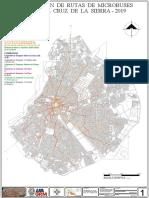 Distribución Rutas- Microbuses (Santa Cruz-Bolivia )-A0
