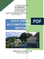 2018 Annual accomplishment Report - Copy