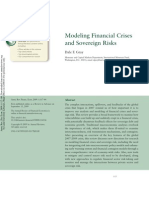Modeling Financial Crises and Sovereign Risks