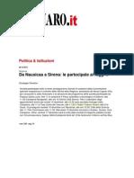 Trianon Viviani, rassegna stampa (giovedì 9 dicembre 2010)