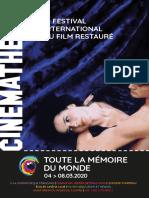 Toute la mémoire du monde - le Festival international du film restauré 2020