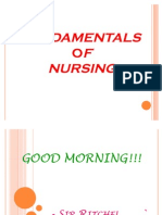 Review - Fundamentals of Nursing