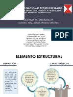 Elementos unidimensionales de infraestructura