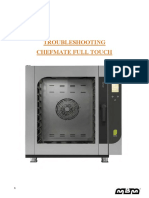 Troubleshooting CHEFMATE FULL TOUCH - GB Rev6LR