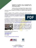 Universidad del Pacifico,Conservacion & Desarrollo, Global Compact - PACTO MUNDIAL,