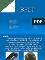 V - BELT