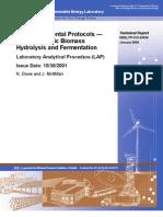 SSF Experiment Protocol Lignocellulose Hydrolysis