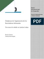 Dinámicas de Organización de los Recicladores Informales..pdf