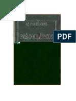 Colecao_Os_Pensadores - pré-socráticos