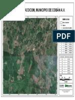 Mapa base Aldea Chinacocom Coban A.V.