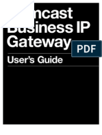 Comcast Business IP Gateway User Guide
