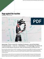 Rage against the machine - Libération