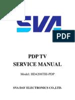 Sva Pdp Tv Service Manual