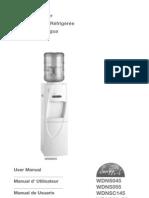 User Manual Water Dispenser