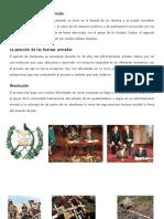 09032017.- Firma de la paz en Guatemala Guerra interna  Conflicto Causas  Consecuencias del conflicto armado en Guatemala