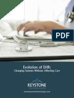 Evolution of EHR ihih