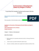 Test Bank for Economics of Development Seventh Edition by Dwight H. Perkins.docx