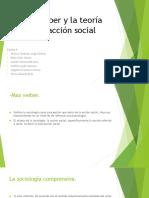 Max Weber y la teoría de la acción