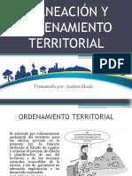 Planeación y ordenamiento territorial