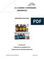 Hierro y nitrogeno amoniacal VF