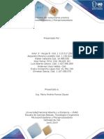 Informe del componente práctico