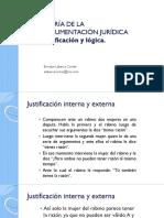 TEORÍA DE LA ARGUMENTACIÓN JURÍDICA