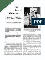 1942 Alcoholic Fermentation of Molasses