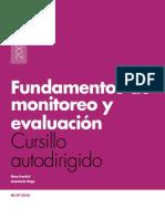 Fundamentos de Monitoreo y Evaluación