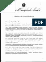 Coronavirus decreto 4 marzo 2020