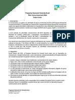Plan de Comunicación PNVR 2016 Referencia