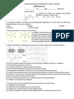 Ficha de exercícios - Biomoléculas
