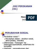 SOSIOLOGI PERIKANAN (PIM 1231), kuliah ketiga.ppt