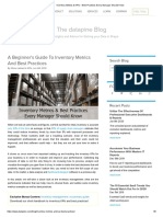 Inventory Metrics & KPIs – Best Practices Every Manager Should Know