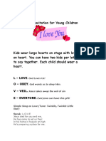Love Recitation for Young Children