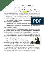 Iron Man Summary Chapter 3 Part 2