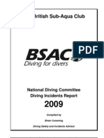 BSAC Diving Incident Report 2009(1)