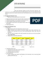 Algoritma Data Mining decision tree,naive bayes, dll