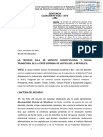 CASACIÓN N° 15342 - 2016 LIMA